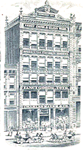 Charles Mayer & Company's original building in downtown Indianapolis.